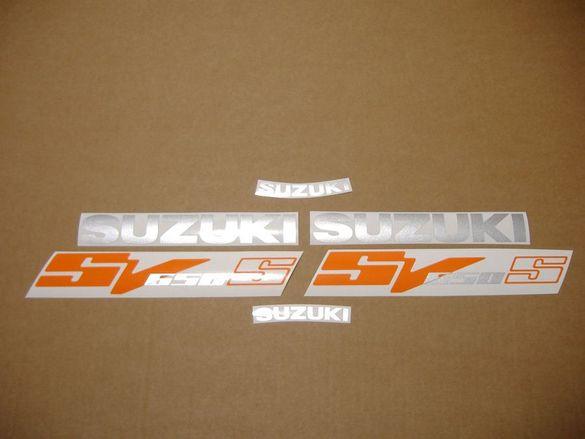 Стикери Сузуки Лепенки Suzuki SV 650S 2003г.-2013г. СВ650С