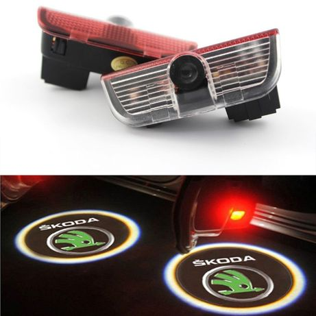 LED лого проектор за Skoda Superb 2009 - 2018