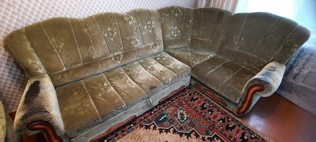 Продам диван и спальний гарнитур