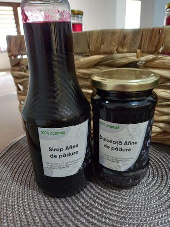 Dulceață si sirop de afine