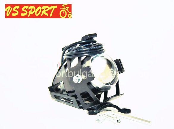 Фар LED светлина / Фар с дълги и къси светлини / Фар за скутер