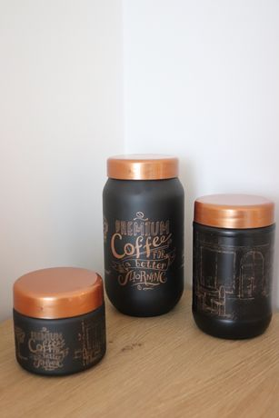 Стъклени буркани за кафе