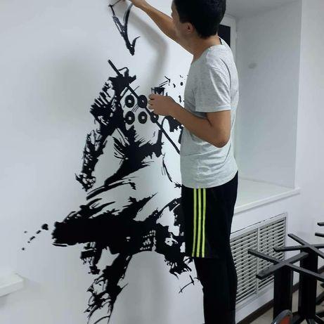 Роспись стен вместе с Дизайном (ArtSign Studio)