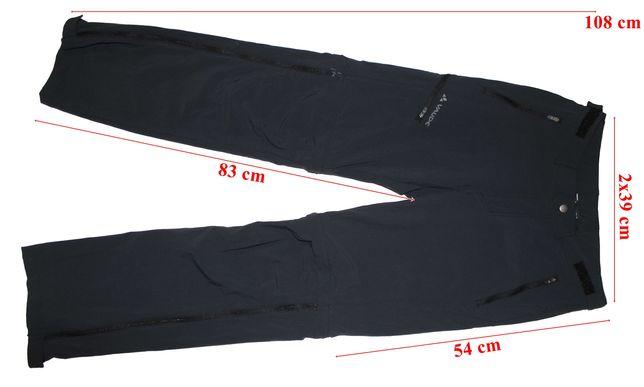 Pantaloni 2 in 1 trekking Vaude stretch barbati marimea 48(S) long