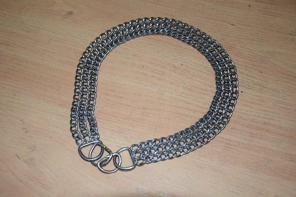 Ошейник-браслет металический