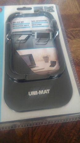 ПРОМО качество  2 в 1 черна стойка подложка за смартфон телефон таблет