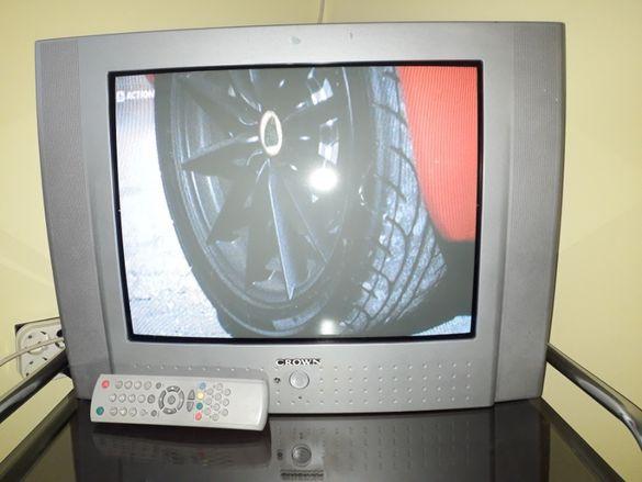 Телевизор Crown 21 инча