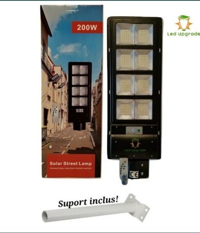 Lampa stradala led 60W / 150W / 200W solara.