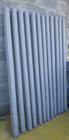 Stalp beton, plasa, oale de fantana cu capac si materiale constructii