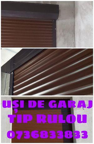 RULOURI exterioare ușă de garaj
