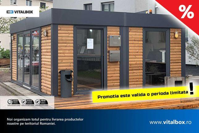 Case containere din lemn prefabricata modulare Vând baraca de locuit