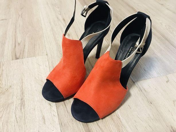 Sandale Zara - piele ecologica