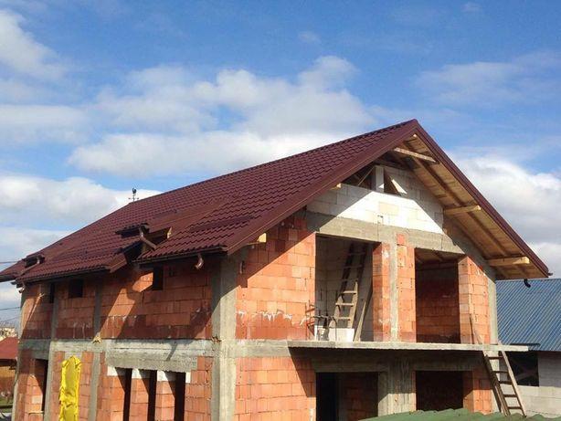 Mansardari case, blocuri - inclusiv montaj acoperisuri