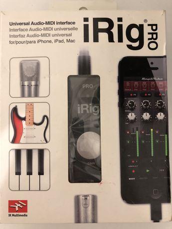iRig Pro MIDI интерфейс