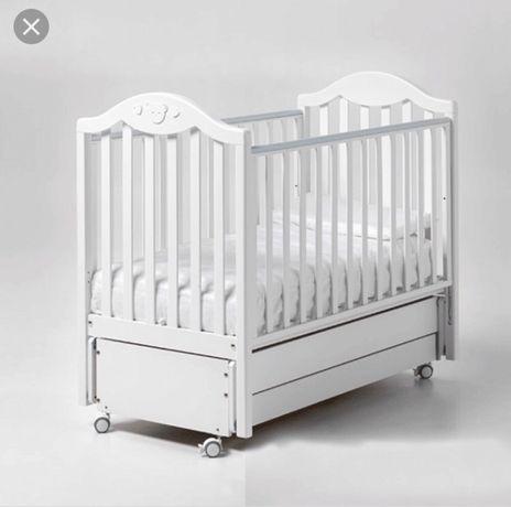 Бебешка кошара Италиянска -люлка + матрак Pierre Cardin