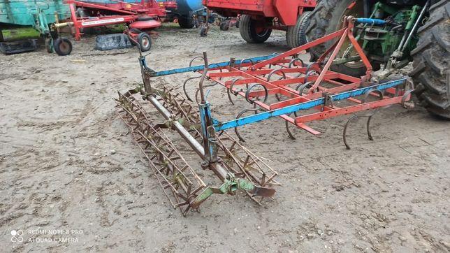 Combinator, cultivator 2 randuri de tavalugi, 2.40 m latime,Flemstofte