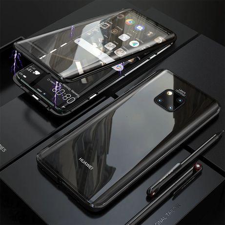 Двоен Магнитен Кейс за Huawei Mate 20 Pro /Mate 20 Lite / 360 градуса