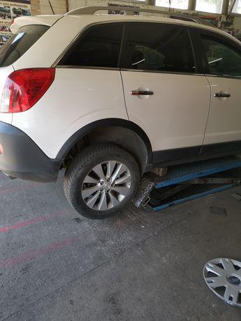 Jante/Roti R18 Opel Antara 5x115 OEM și anvelope iarna 235 55 R18
