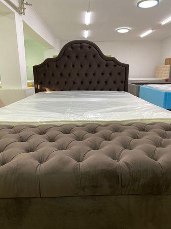 Мягкая кровать в восточном стиле