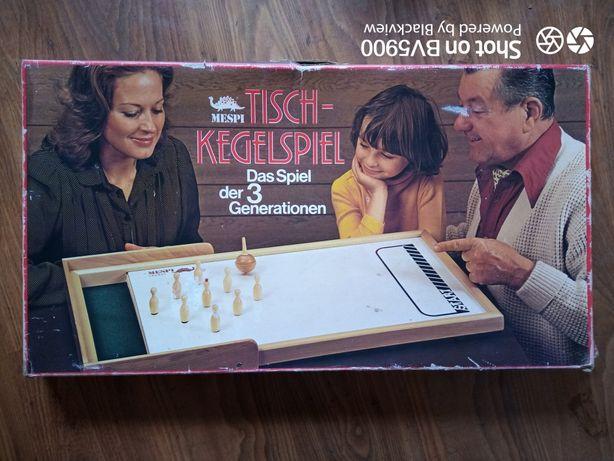 Joc vechi Table-bowling,Tisch-kegelspiel