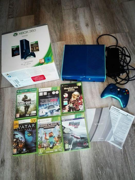 Xbox 360,500 GB +5 jocuri Timisoara - imagine 1
