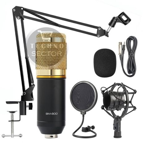 Универсален кондензаторен студио микрофон Trusiner