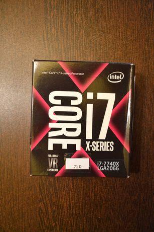 Procesor Intel® Core™ i7-7740X, X-Series, 4.3 GHz, 8 MB, Socket 2066