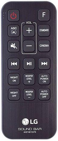 Telcomanda LG Sound Bar SJ3 2.1 AKB74815376