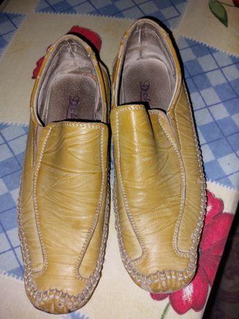Туфли - мокасины  35 размер
