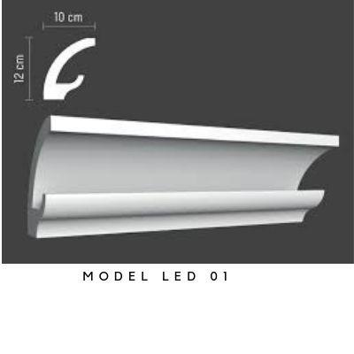 Baghete decorative pentru interior , model cu led