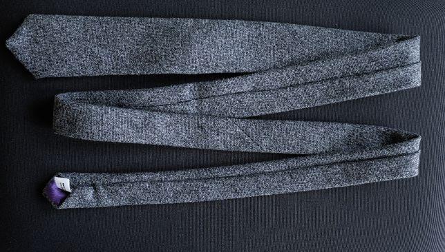 Cravata skinny din lana