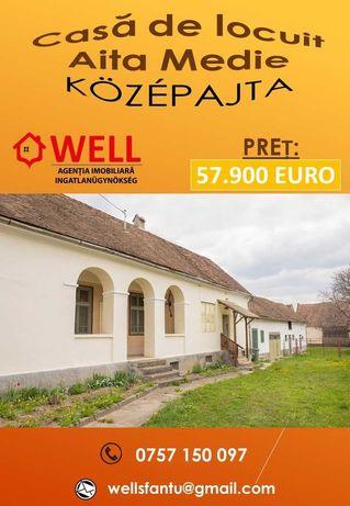 De vânzare casă de locuit în cetrul satului Aita Medie