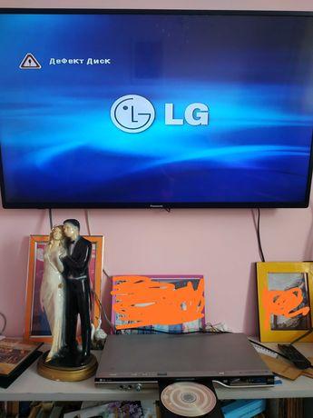 DVD плеер LG, с пультом управления
