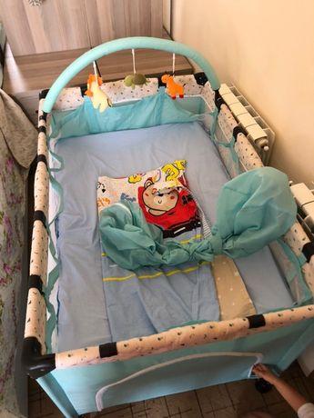 Детскый кровать 3в1