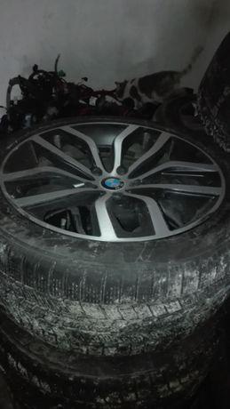 "Bmw x6 3бр гуми с джанти 20"""