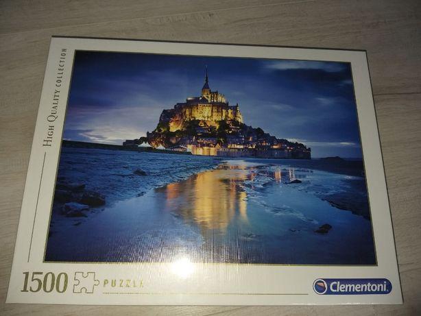 Puzzle Clementoni - Le Mont Saint-Michel, 1500 piese