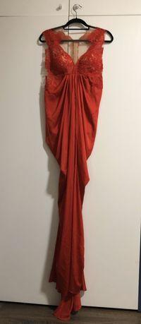 Rochie de seara, potrivită pentru o gravida sau marimea L