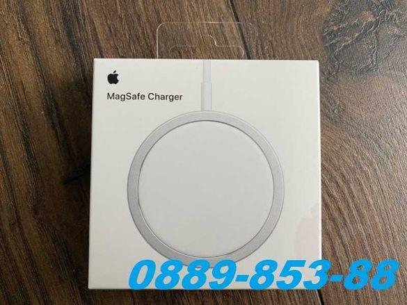 Оригинално MagSafe безжично зарядно за iPhone 11 12 pro max 8 X Mini