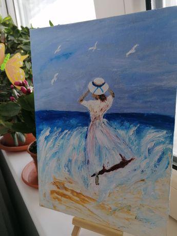 Pictura în acrilic