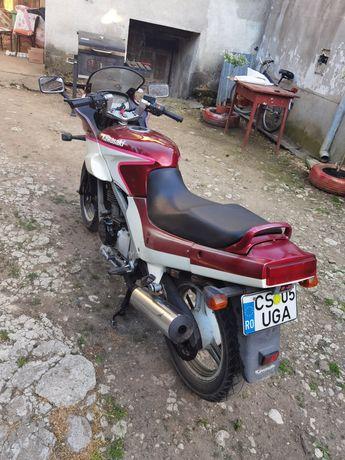 Kawasaki gpz 500 sau schimb cu motor de teren