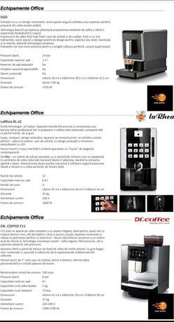 Automate,Espressoare cafea boabe și pe capsule în comodat