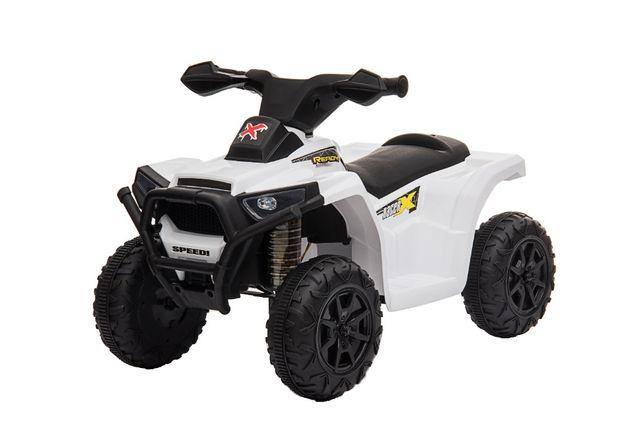 Mini ATV electric pentru copii BJ116 35W STANDARD #Alb
