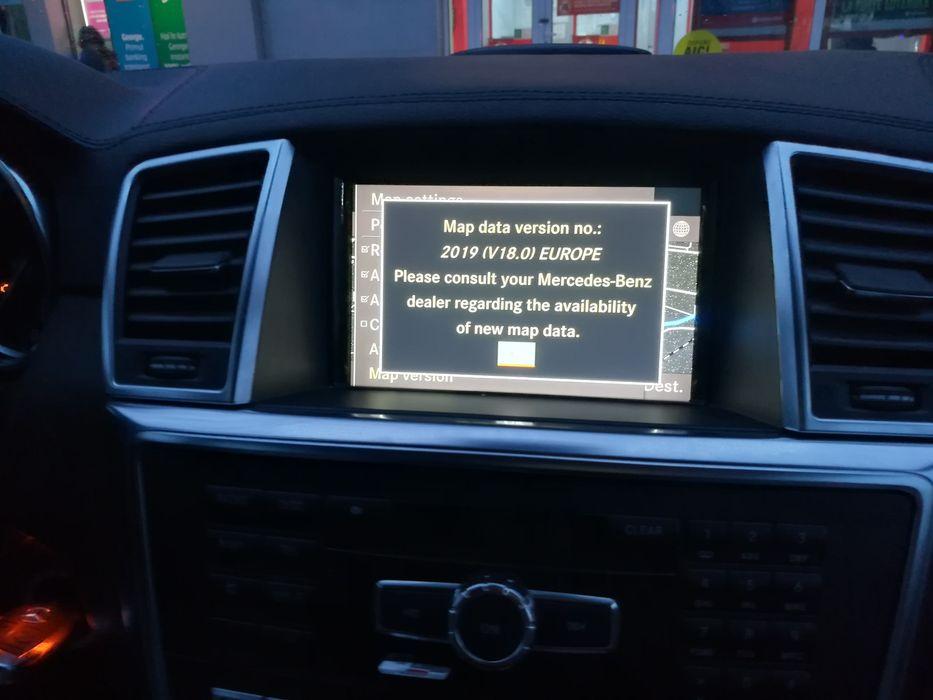 Hărți navigație GPS Mercedes Comand Online NTG4.5 NTG4.7 Europa