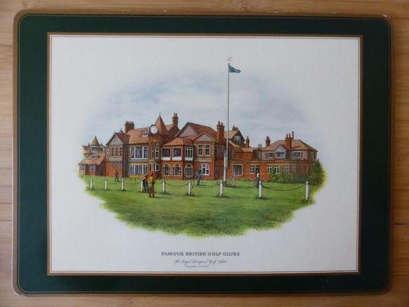 Декоративни картини на голф клубове 4 бр