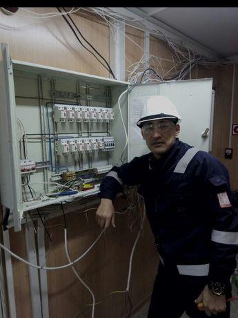 Добрый Электрик Делаю Как себе Самая низкая цена В Алмате выезд беспла
