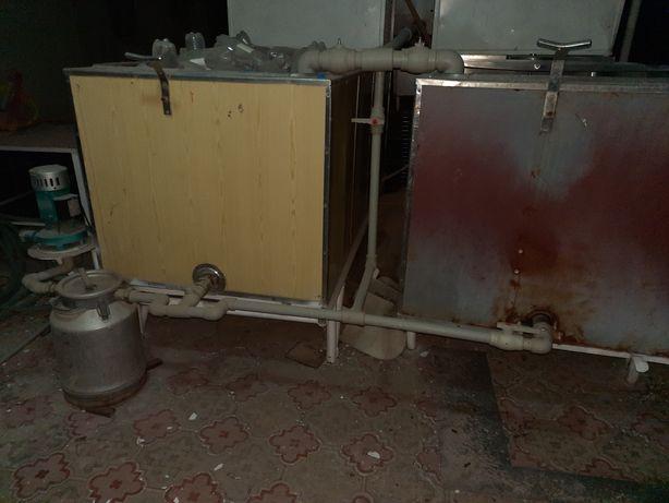 Малочный Обородование. холодильник 2×3 метр.