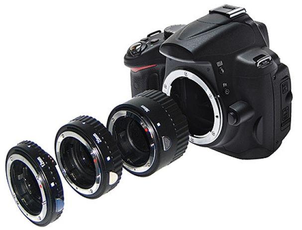 Фирменные макро кольца Vello с автофокусом for Nikon