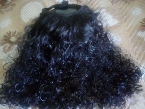 Дамска перука+ коса са екстешън
