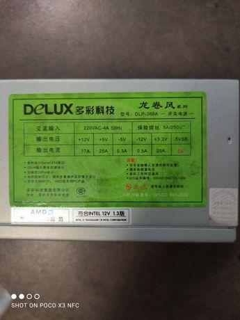 Блок питания для компьютера Delux 400 ватт