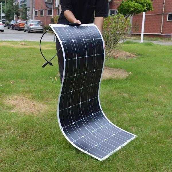 Гъвкав соларен панел 100w кемпер каравана слънчев фотоволтаичен гр. Стара Загора - image 1